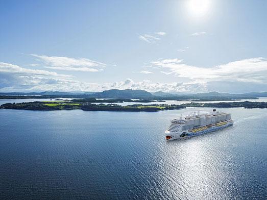 AIDA Cruises restrukturiert seine Flotte für nachhaltiges Wachstum