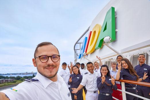 AIDA Cruises startet Joboffensive