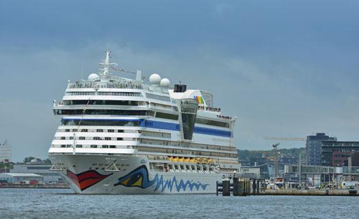 AIDAsol zur ersten Kreuzfahrt des Jahres ab einem deutschen Hafen