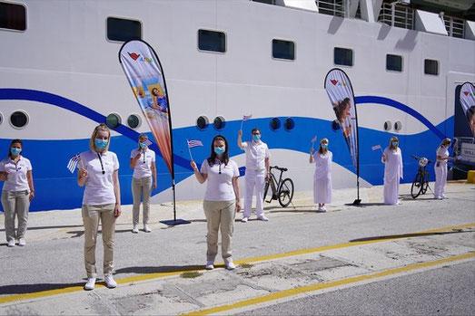 AIDA Cruises startet mit AIDAblu im östlichen Mittelmeer