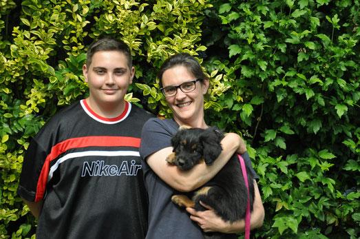 Ulix mit seiner neuen Familie