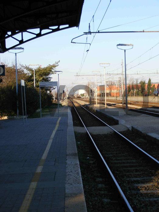 Questa è la stazione dove arrivavano i P.G.