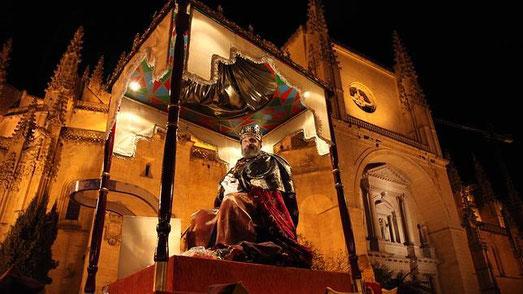Cabalgata de Reyes de Segovia