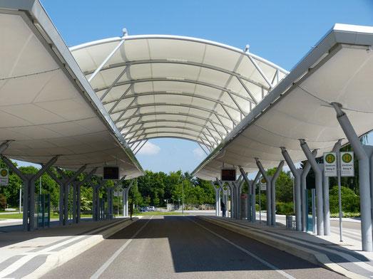 Unser Busbahnhof