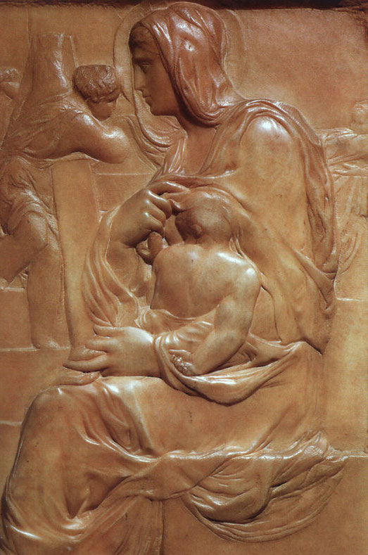Miguel Ángel B.: Virgen de la escalera, 1407