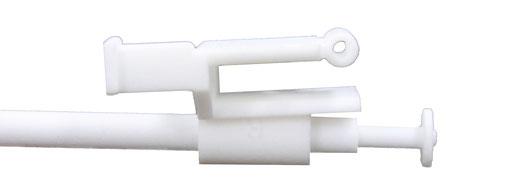 3D-gedrucktes Befestigungsteil des  Schiebedachseiles eines Volvo P 122 (Amazone)