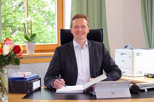 Simon Frank, Bürgermeister in Aschau im Chiemgau