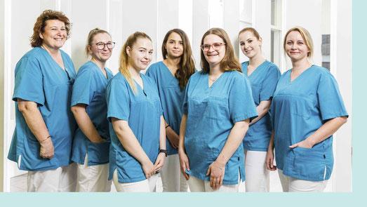 Das Team des MVZ Praxis Dr. Cornely Düsseldorf.