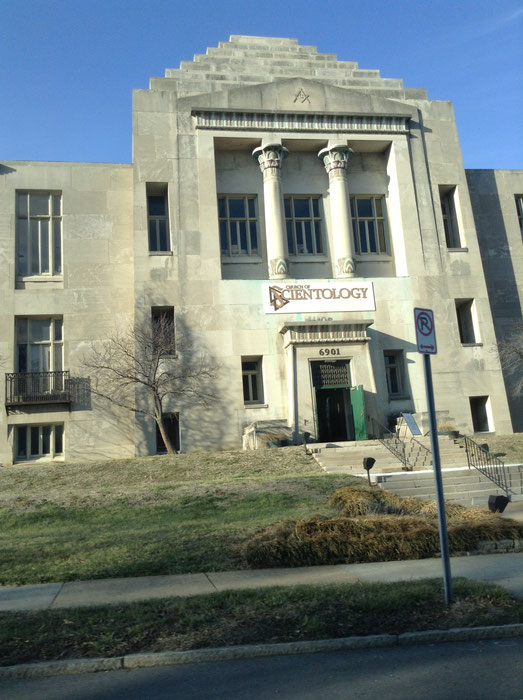 Eine Scientology Kirche