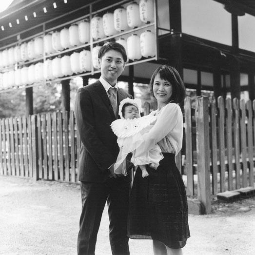 K様ご家族(2016年10月 白黒フィルム撮影)