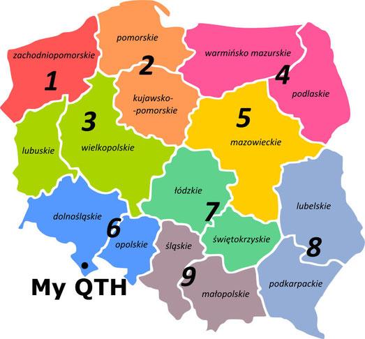 Polish radio regions