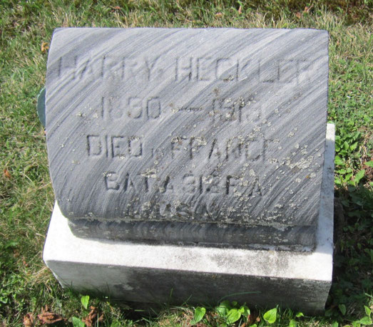 Tombe d'Harry - Harry's grave - FindaGrave.com