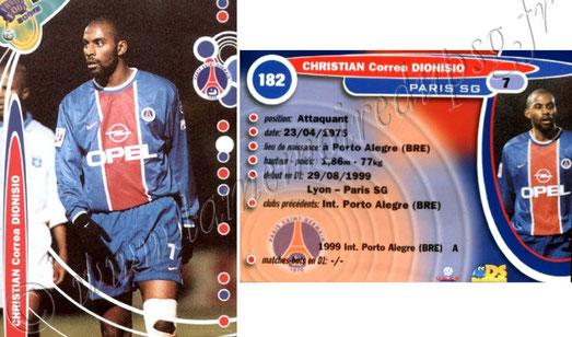 N° 182 - Correa Dionisio CHRISTIAN