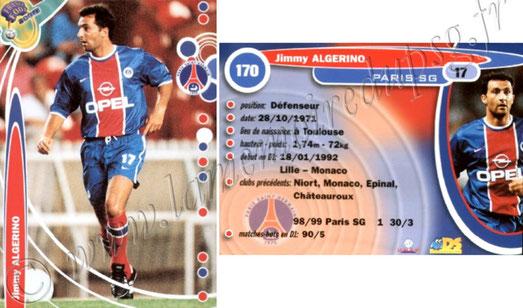 N° 170 - Jimmy ALGERINO