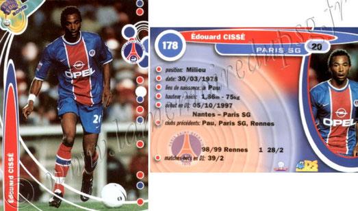 N° 178 - Edouard CISSE