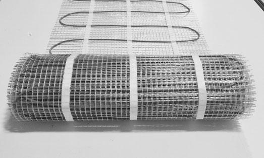 Green mat system Lorenzoni, riscaldamento elettrico a pavimento