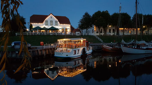 Carolinensiel Museumshafen Nordsee