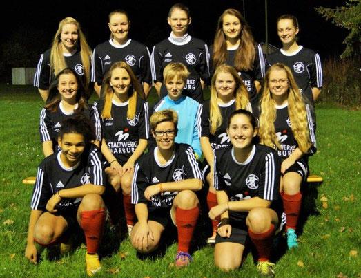 Mannschaftsfoto der FSG Ebsdorfergrund zum Abschluß der Feldsaison