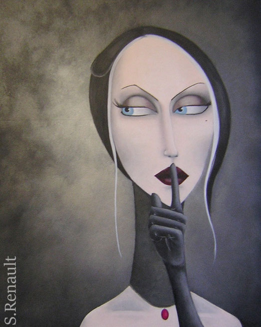 Remove the Silence (81x65 cm) 2011