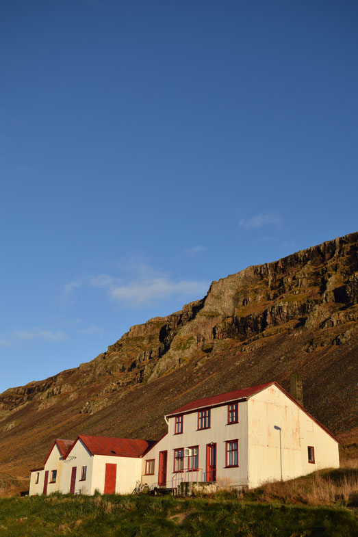 old farm house, East Fjords, Iceland