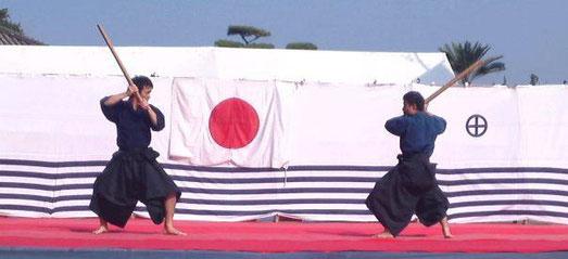 第45回古武道大会から一場面