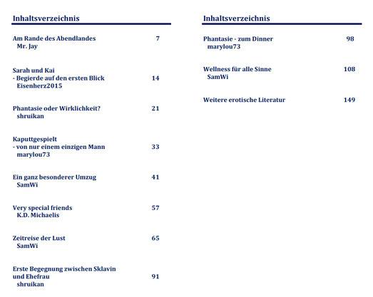 Inhaltsverzeichnis eBook/Buch/Hörbuch: So sexy ist der Norden! Band 4 von K.D. Michaelis