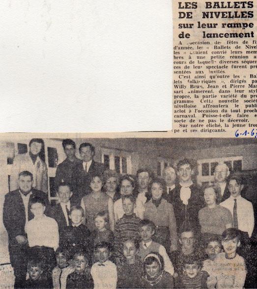"""Article paru dans le journal """"Le Peuple"""" le 6/01/1967"""