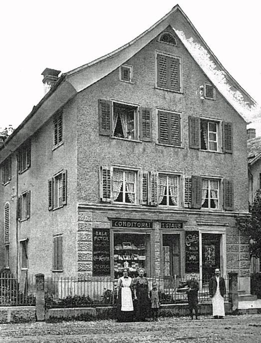 Konditorei Tobias Staub, 1925