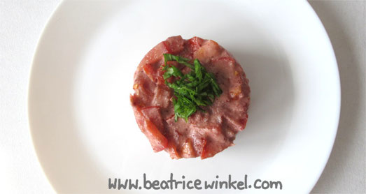Beatrice Winkel - Kirsch-Tomaten-Turm