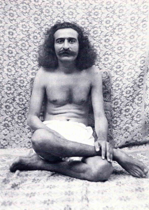 1928 : Meher Baba fasting in Toka, India. Courtesy of LM p. 1057