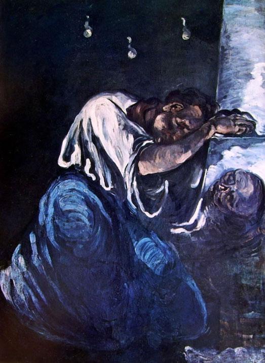 """Paul Cezanne, """"Il dolore"""""""