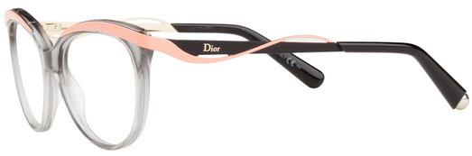 Occhiali da vista Christian Dior donna. Modello: 3279. Colore: 8LE GRY CRL grigio e rosa. Calibro 51-16. Prezzo: € 238,00. Spedizione gratis. Materiale: plastica. Forma: rotondo/ovale.