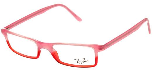 Occhiali da vista Ray-Ban uomo 0RX5027. Colore: 2116 rosa e arancione. Forma: rettangolare. Prezzo € 100,40. Spedizione gratis. Materiale: plastica.