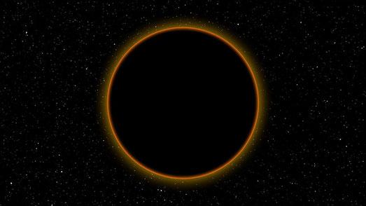 Dans la prophétie, le soleil devient noir comme un sac de crin. Il n'émet plus le rayonnement habituel qui nous éclaire et nous réchauffe. Cela crée une ambiance angoissante pout tous les habitants de la planète. Le soleil est la lumière divine.