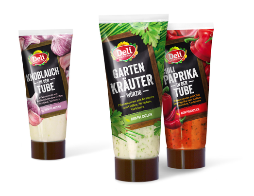 Deli Reform - Kräutermagariene - Tuben - Gartenkräuter - Knoblauch - Chili - Paprika - Grillen - Packaging - Design - DesignKis - Verpackung