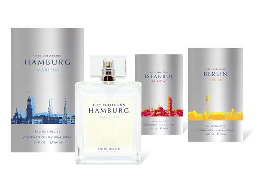 Heinemann - Städte - Parfüm - Duft - Hamburg - Istanbul - Berlin - Packaging - Design - DesignKis - 2010 - Verpackung