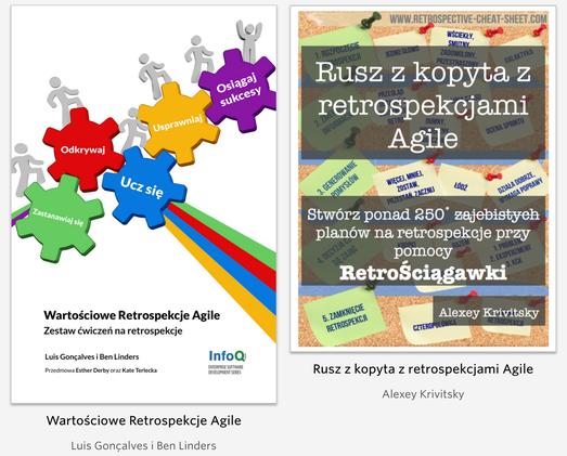 """Retrospektywy Agile"" - a bundle in Polish."