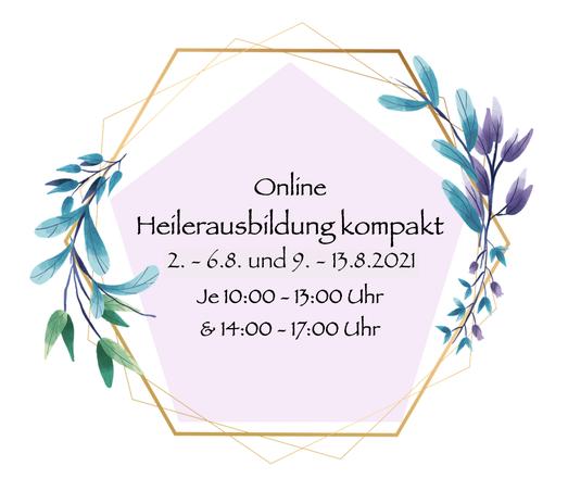 Heilerausbildung online beginn 2.8.2021