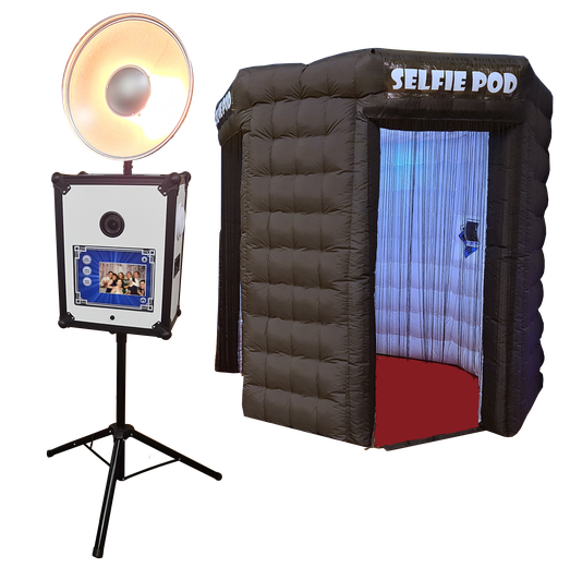 Selfie Pod Party Photo Booth Hire