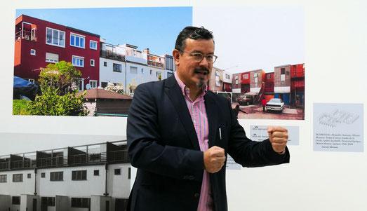 Peter Cachola Schmal, Direktor DAM Foto: © Klaus Leitzbach/frankfurtphoto