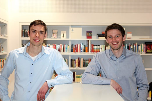 Gründer Stefan Gogel und Mario Meyer