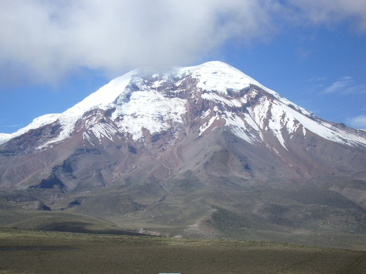 Wandern im Nationalpark Chimborazo mit ECUADORline