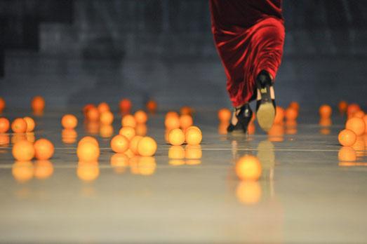 Bühnenbild, Orangen, Italien, Goethe, Kostüme