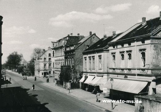 Steinfurter Straße- Einmündung Grevener Straße