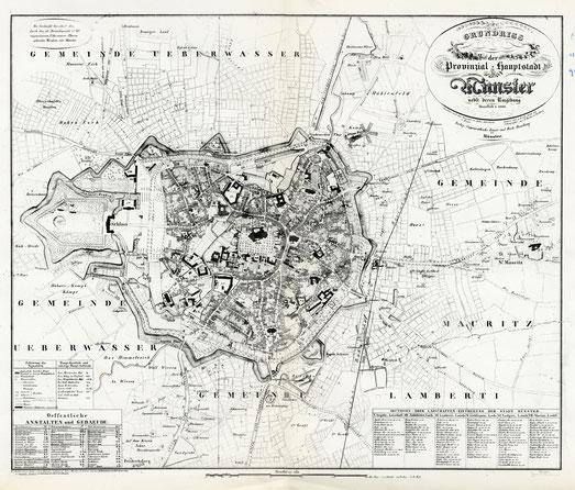 Stadtplan 1864