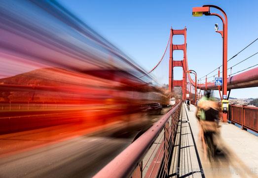 Golden,gate,bridge,san,francisco,usa,rundreise,jucy,campervan,langzeitbelichtung,zeit,schnell,rasant