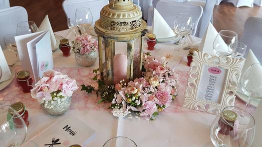 Hochzeitsdeko vom Profi