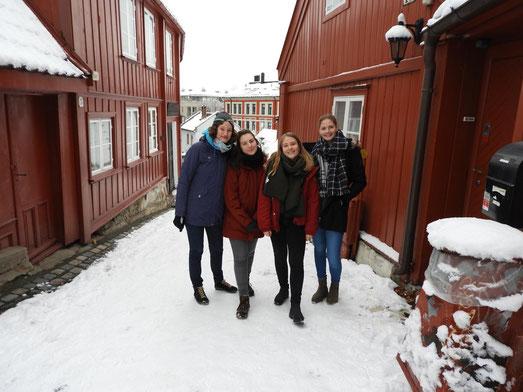 Kopenhagen zu Besuch in Oslo - Hedwig Walter, Ricarda Wittchow, Lenja Bockermann, Jule Müller