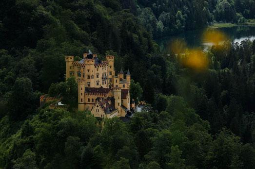 Schloss Hohenschwangau, Schlösser in Deutschland