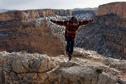 Winter hikes and adventures in Wyoming and Montana